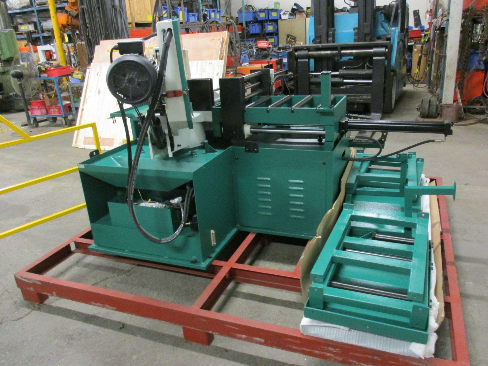 Lot 239 - Magnum BSM-1813A Fully Automatic CNC Horizontal Band Saw - 18 X 13 inch CUTTING CAPACITY - CNC