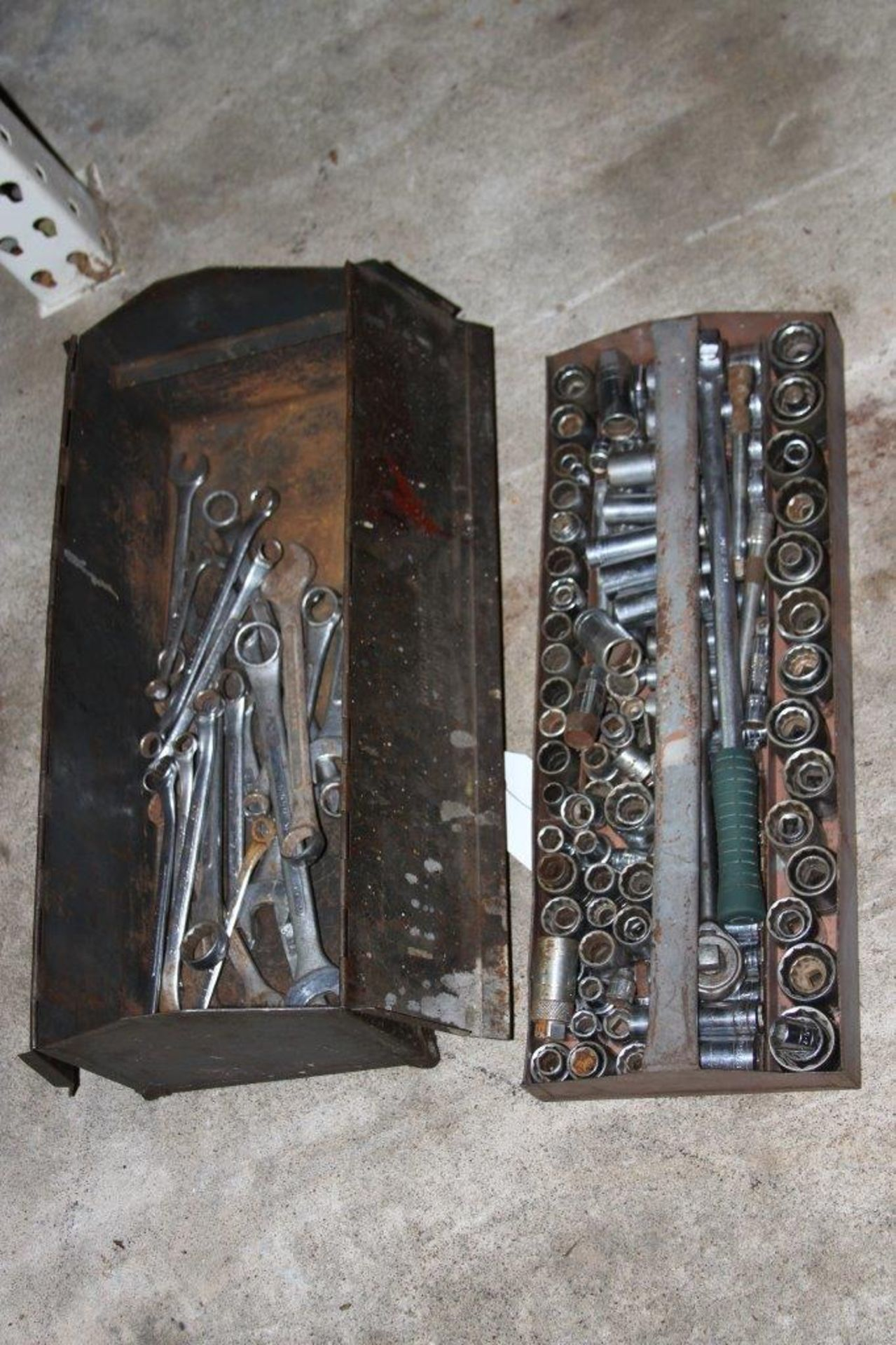 Lot 16 - Tool Box filled with assorted SK Tools