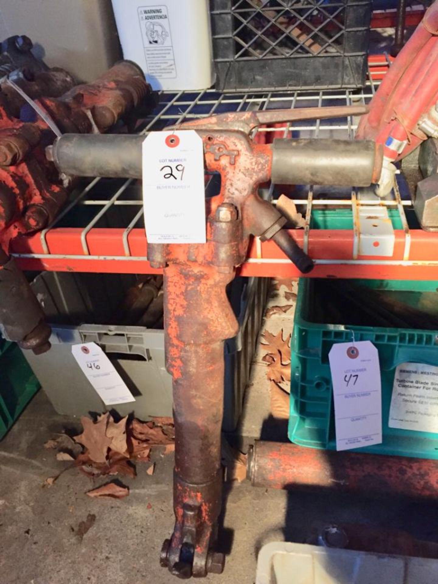 Lot 29 - (1) APT Jackhammer