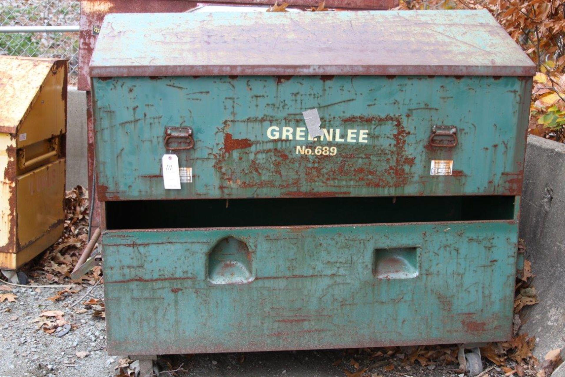 Lot 111 - Rolling Job Box, Greenlee