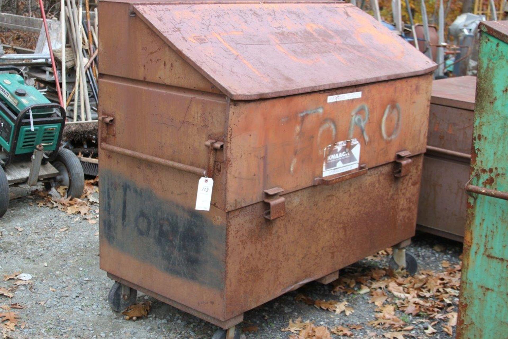 Lot 113 - Knaack Storagemaster 89 Rolling Job Box