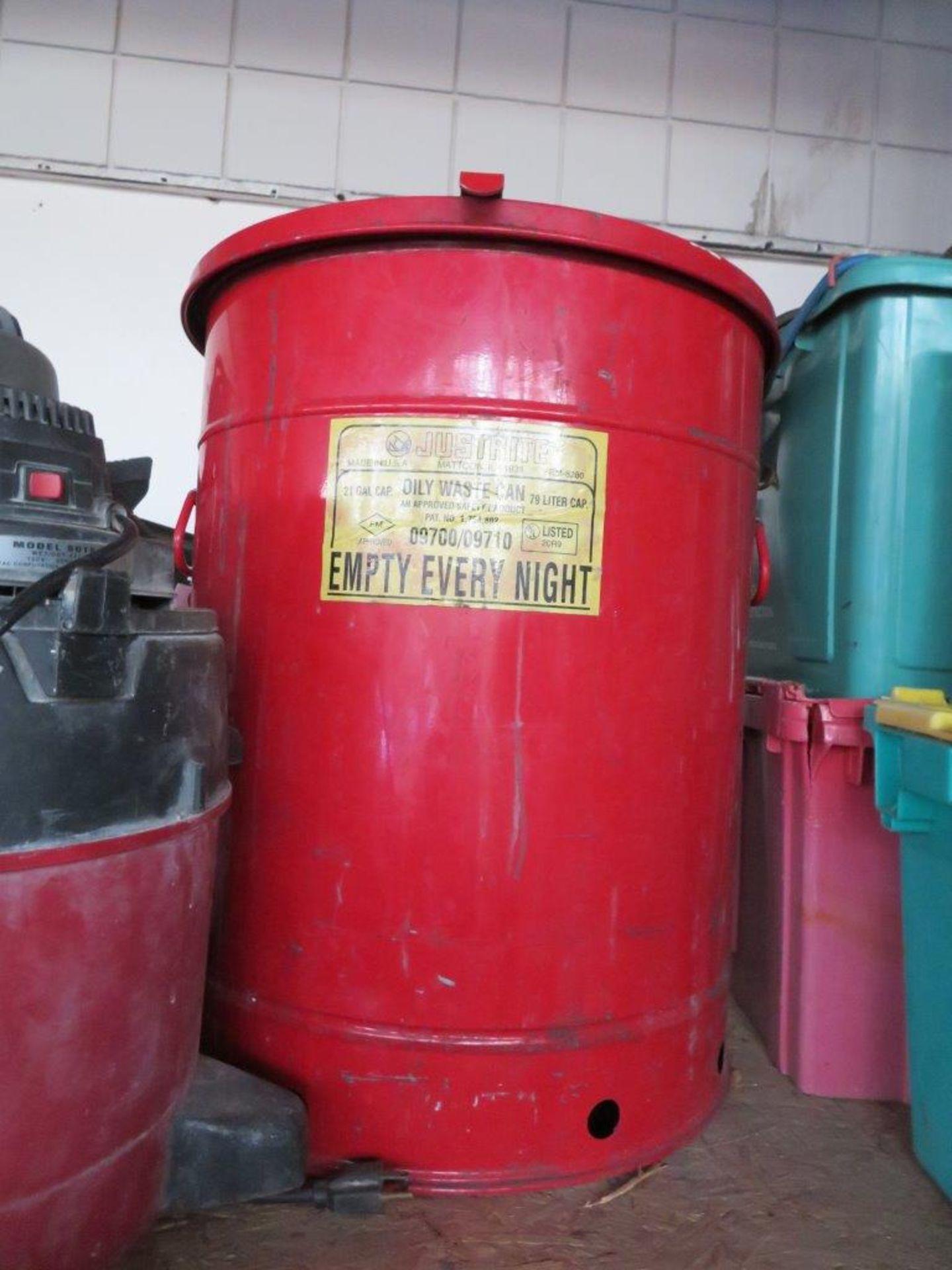Lot 57 - JustRite 21 Gallon Oil Waste Can