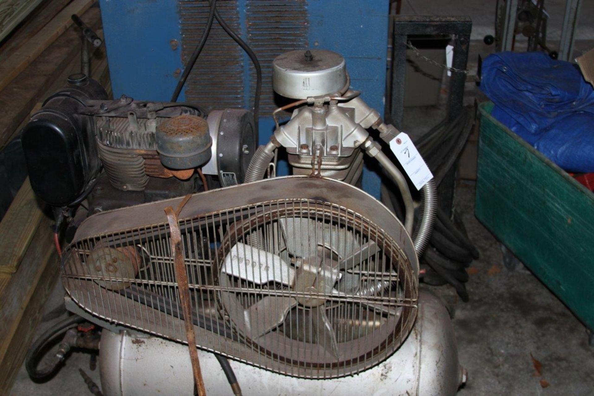 Lot 7 - Campbell Hausfeld Kohler Gas Powered Air Compressor