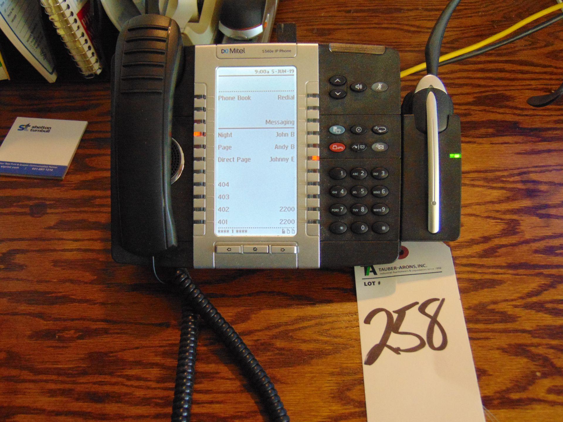 Lot 258 - (Lot) Mitel mod. 5330e IP Phone System