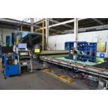 "(2008) Bavelloni mod. Synchro Cutting MTS 37/27B CNC Glass Cutter w/ 115"" x 180"" Tilt Vacuum"