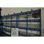 """(Lot) Single Side Glass Rack, 171""""W x 80""""T"""