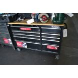 (Lot) Husky Desk Drawer Tool Box w/ Hard Top