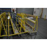 "Approx. 60""W x 47""T Single Side Glass Carts"