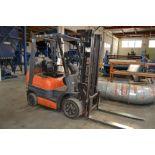 Toyota mod. 42-6F GC420, 4,000lb LPG Forklift