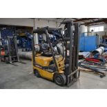 Caterpillar mod. CC15, 2,000lb. LPG Forklift