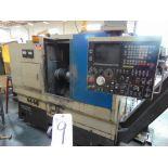 Takamatsu mod. EM-2A, CNC Turning Center w/ Fanuc System 6T Controls; S/N 8502505
