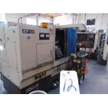 Takamatsu mod. EM-2A, CNC Turning Center w/ Fanuc System 10-T Controls; S/N 8500503