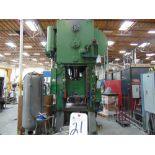 "Clearing mod. K-1200-30, 4-Port Hydraulic Press w/ 3' x 4' Pallets, 6"" Slide Stroke, 40 SPM w/ Air"