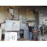 Jet Wheel Shot Blast Cabinet w/ Dust Collector