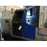 Takamatsu mod. EM-2A, CNC Turning Center w/ Fanuc System 6T Controls; S/N n/a