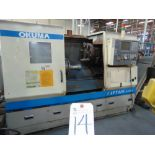 (2002) Okuma mod. L470 Captain Type LB400-M CNC Turning Center w/ Okuma OSP-E100L Controls, 12-