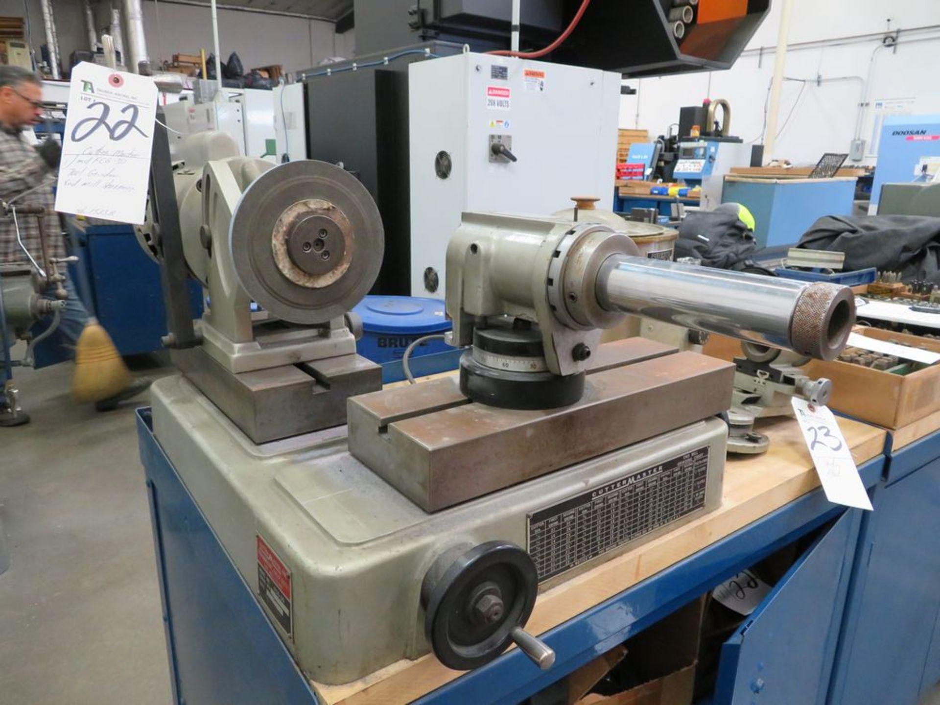 Lot 22 - Cutter Master mod. FCG-30, Tool Grinder End Mill Sharpener; S/N 1523B