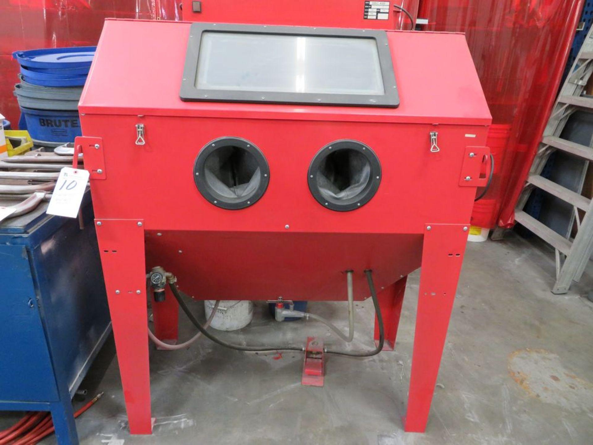 Lot 10 - SBC-420 Blast Cabinet