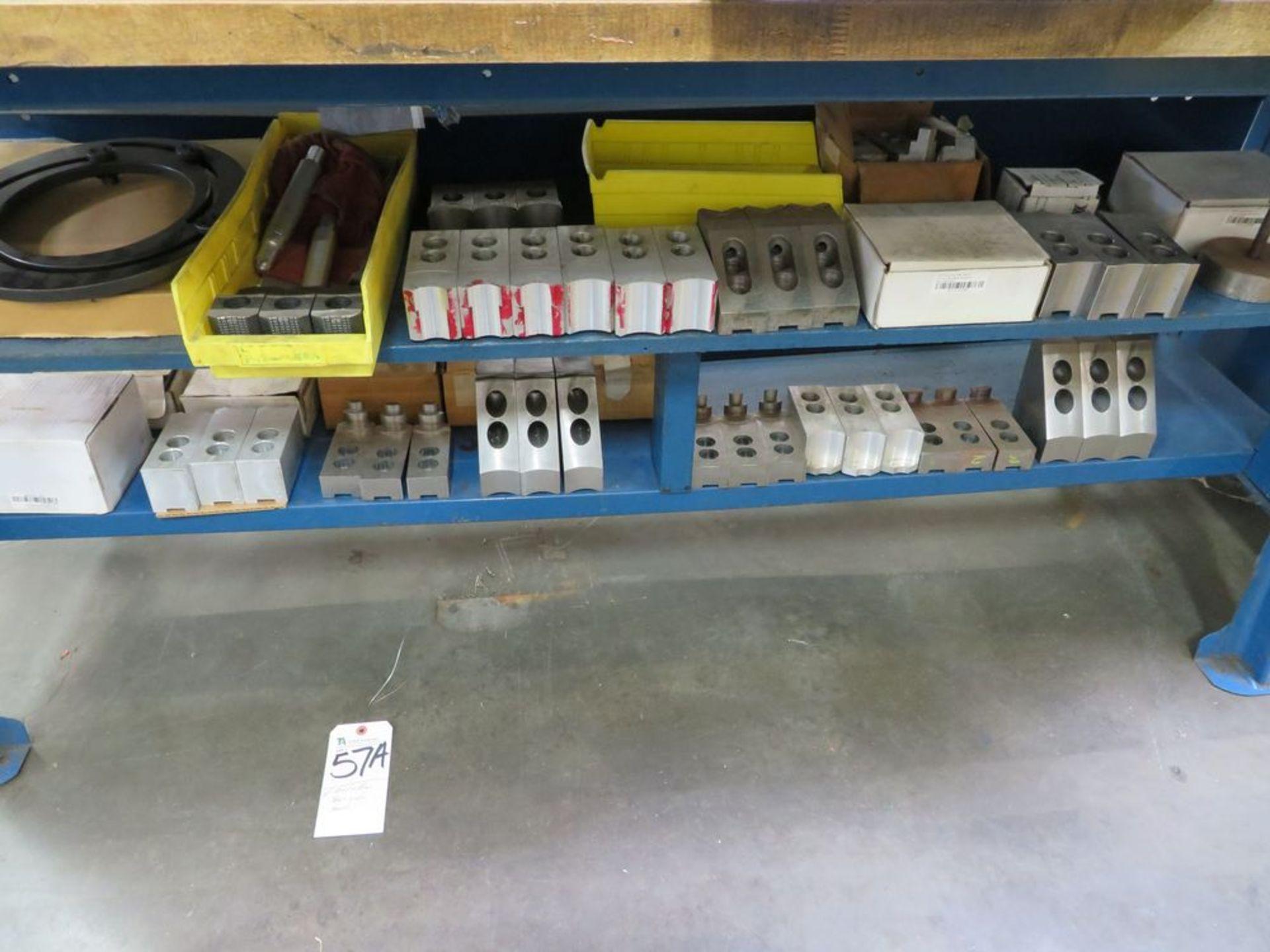 Lot 57a - (Lot) Aluminum & Steel Jaws (No Bench)