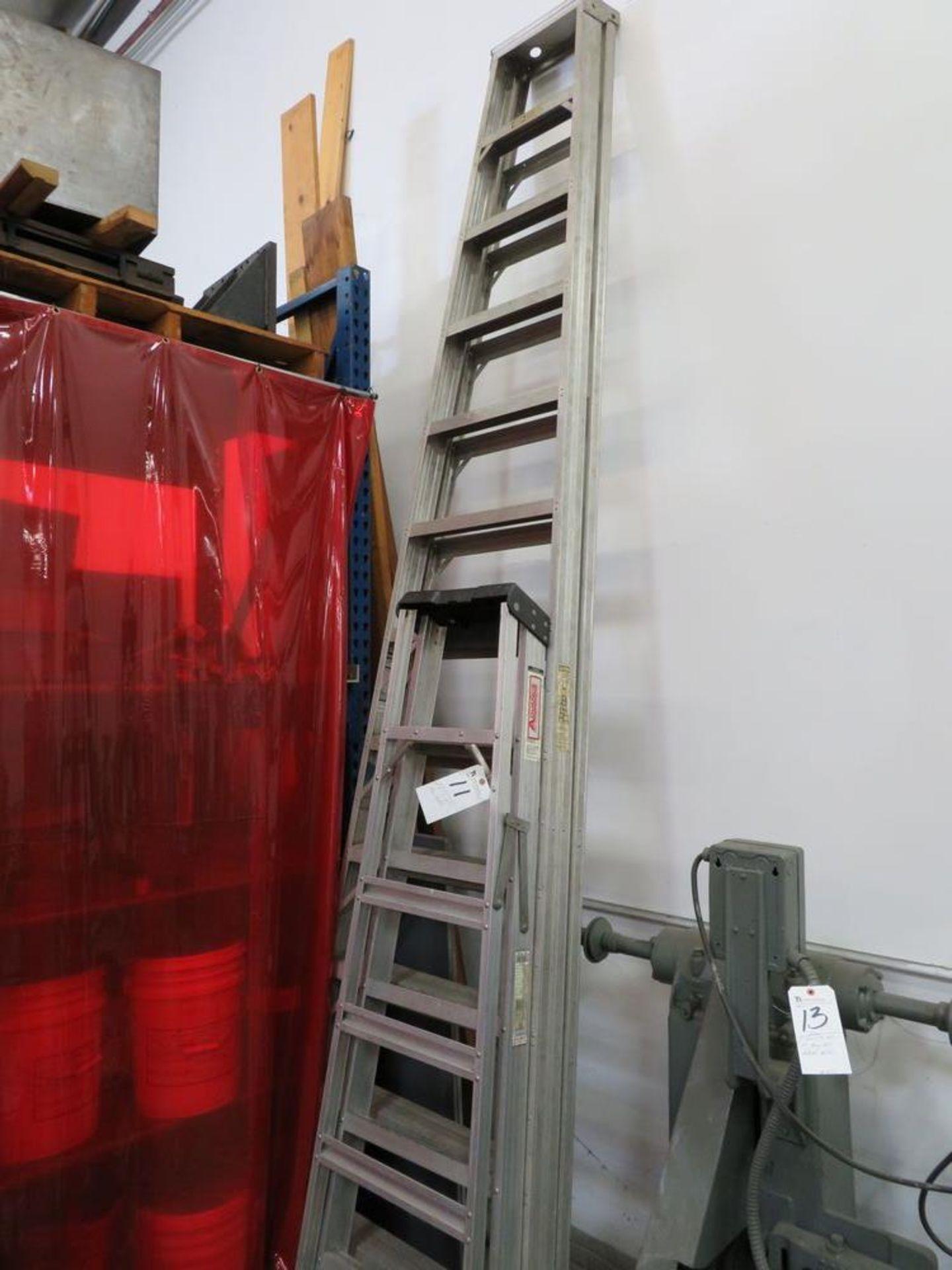 Lot 11 - (Lot) 6' x 12' Aluminum Ladder