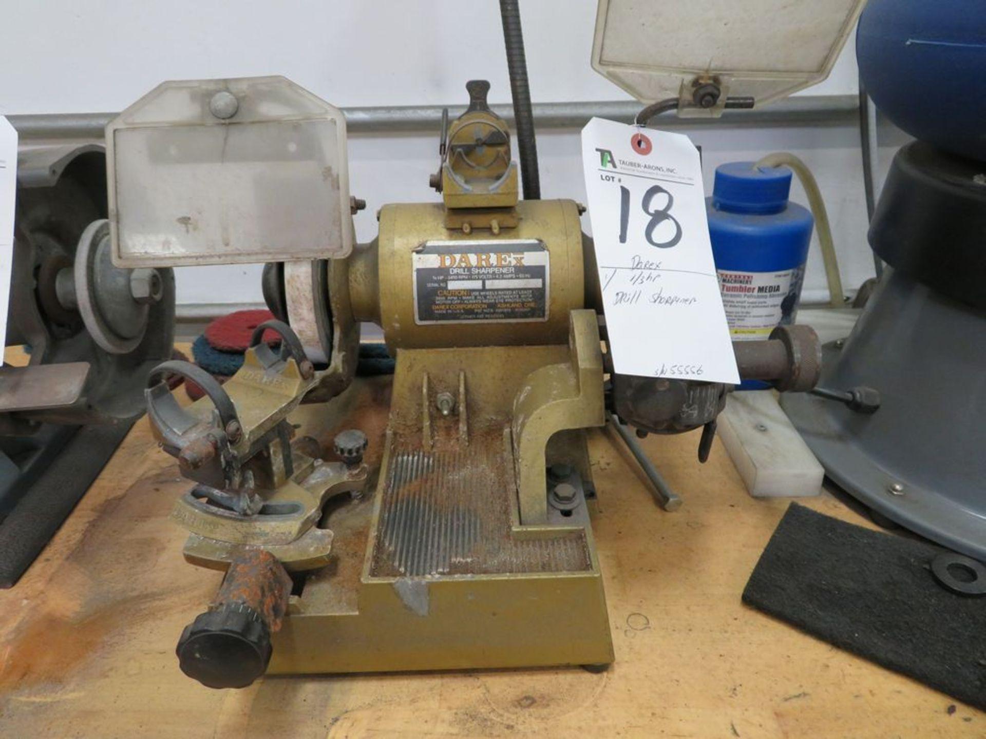 Lot 18 - Darex 1/3hp Drill Sharpener S/N 55556