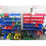 (Lot) Holddowns w/ (2) Carts