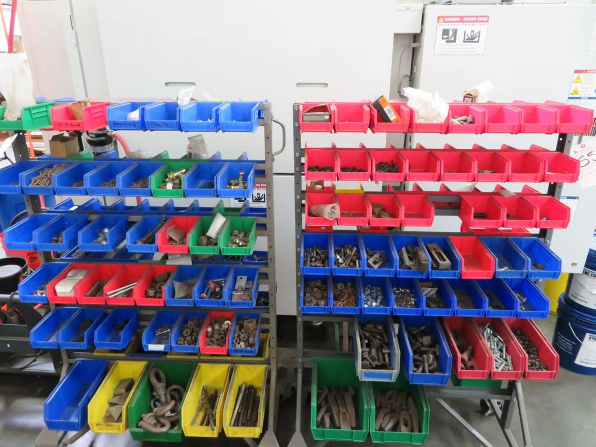 Lot 55 - (Lot) Holddowns w/ (2) Carts
