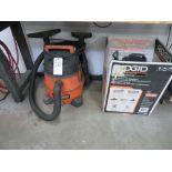 (Lot) Ridgid Shop Vacuum