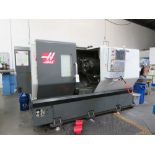 (May 2013) Haas mod. ST30, CNC Turning Center w/ Chip Conveyor, Haas CNC Controls, Tail Stock, 12-