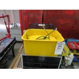 (Lot) Parts Washer w/ Cabinet