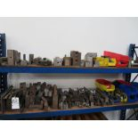 (Lot) Misc Tooling & Vise Spacers on Rack