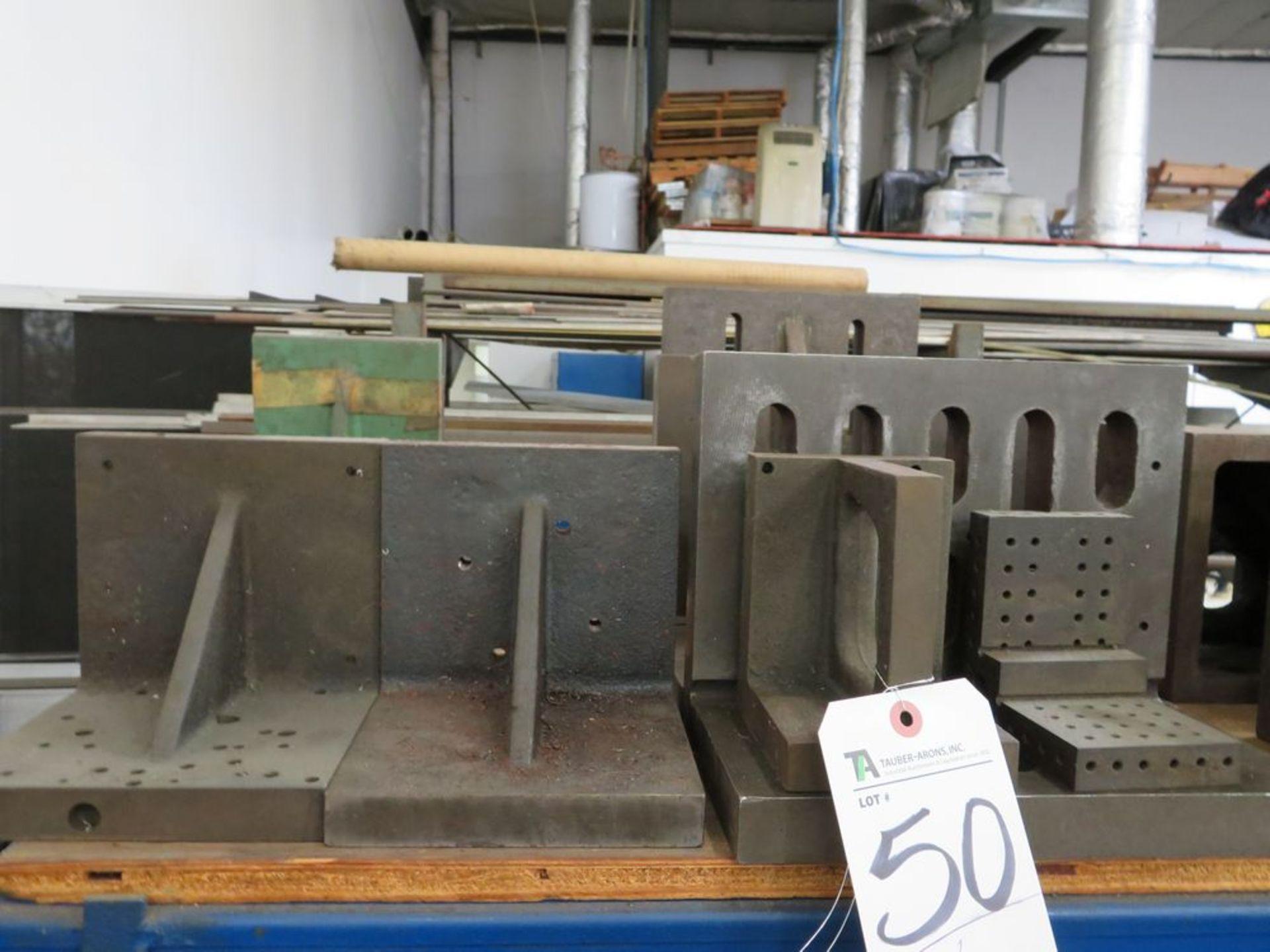 Lot 50 - (Lot) Angle Plates