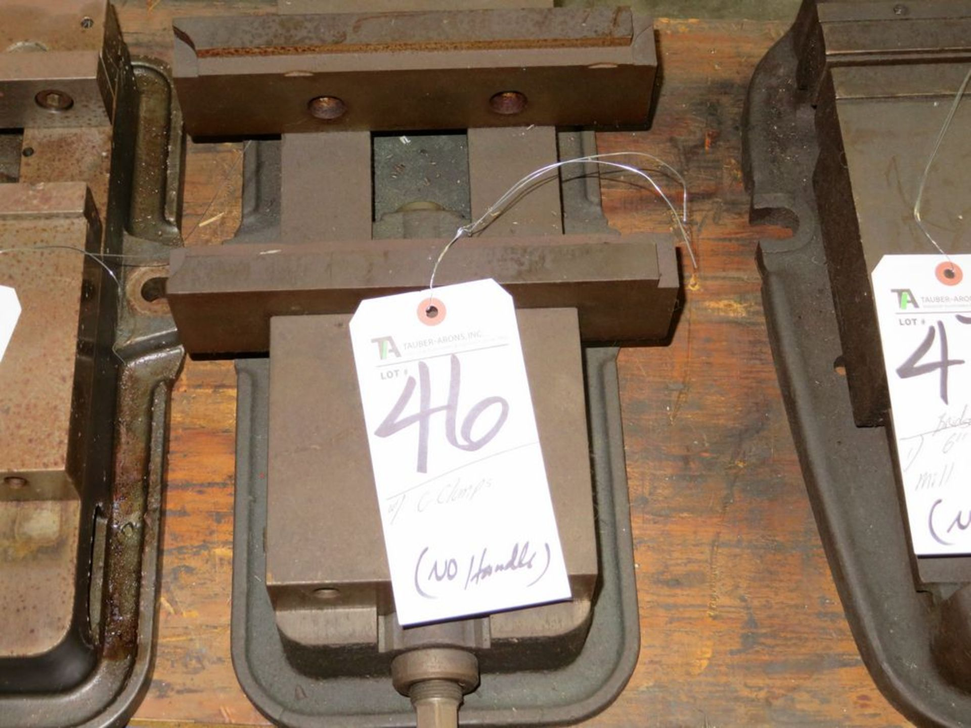 """Lot 46 - 6"""" Mill Vise (No Handle)"""