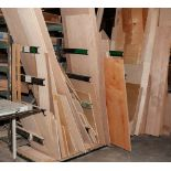 Cantilever Rack Approx. 68 Inch Tall x 91 Inch Long, 29 3/4 Inch Arms, No Contents