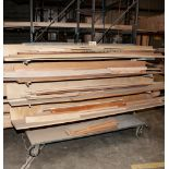 Steel Rolling Double Sided Cantilever Cart