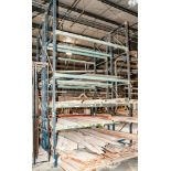 (2) Sections Pallet Rack, Interlake Style