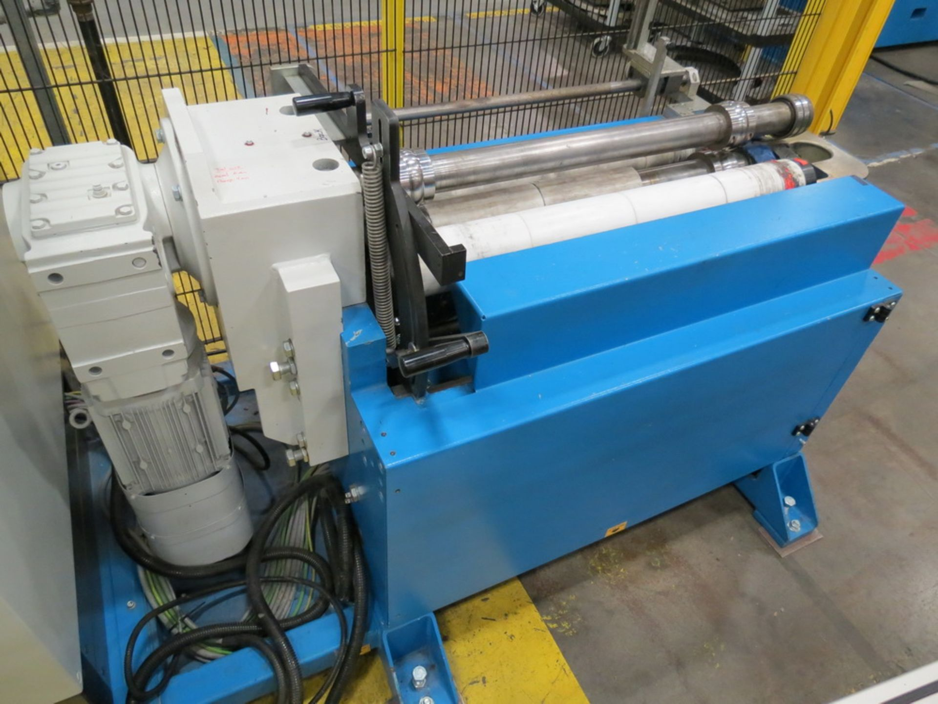 "Lot 53 - 2015 Prinzing RBA 100/93 4-Roll Bead Forming Machine, .059"" x 36.6"" capacity"