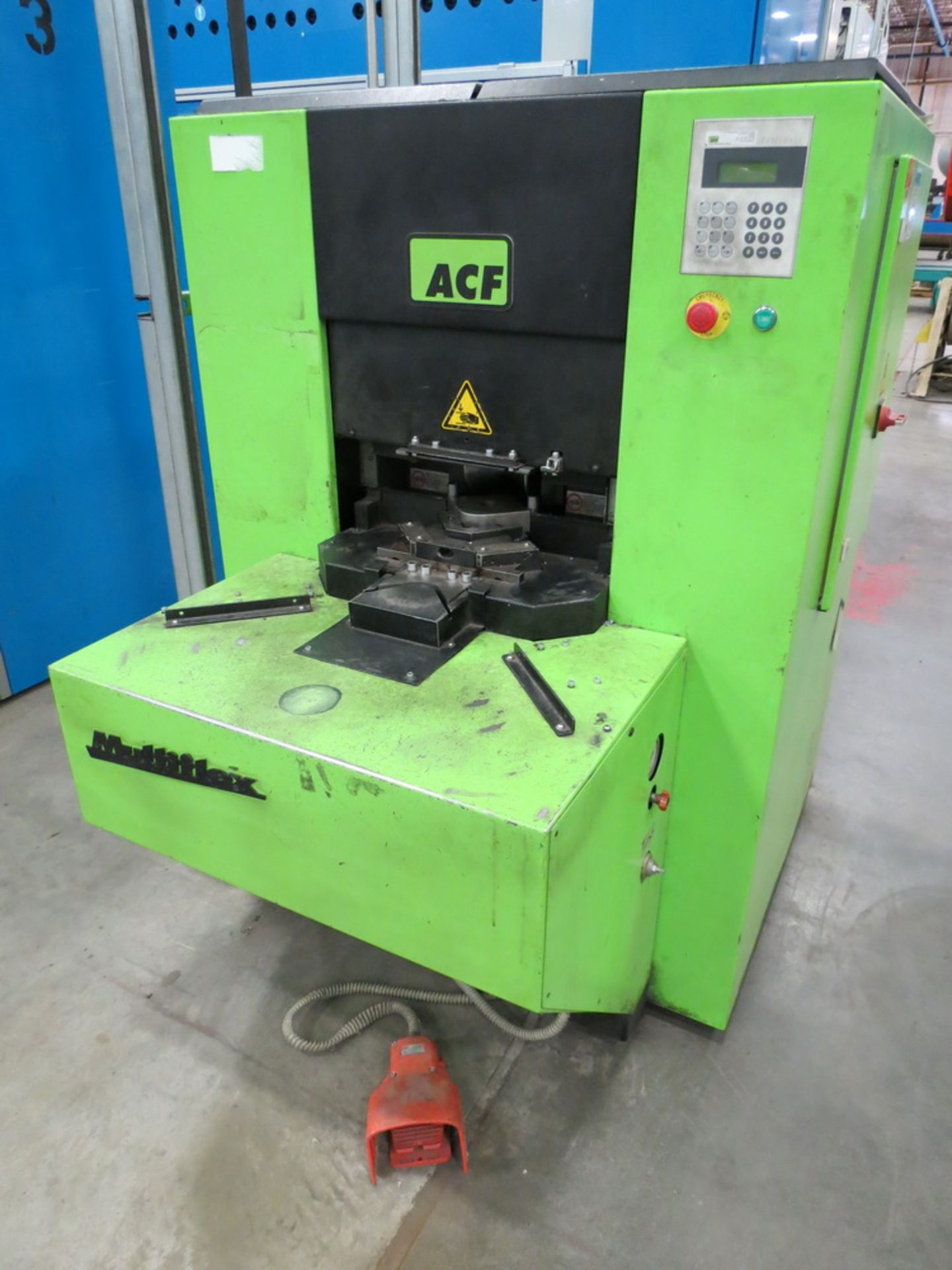 Lot 48 - 2014 ACF Engineering Model MF-50-313 Corner Former/Shear w/ Panelware Digital Controls