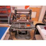 John Thomson Press MFG Die Cutter, Model: C, SN: 10373