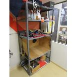 Shelving Unit, Five Shelf