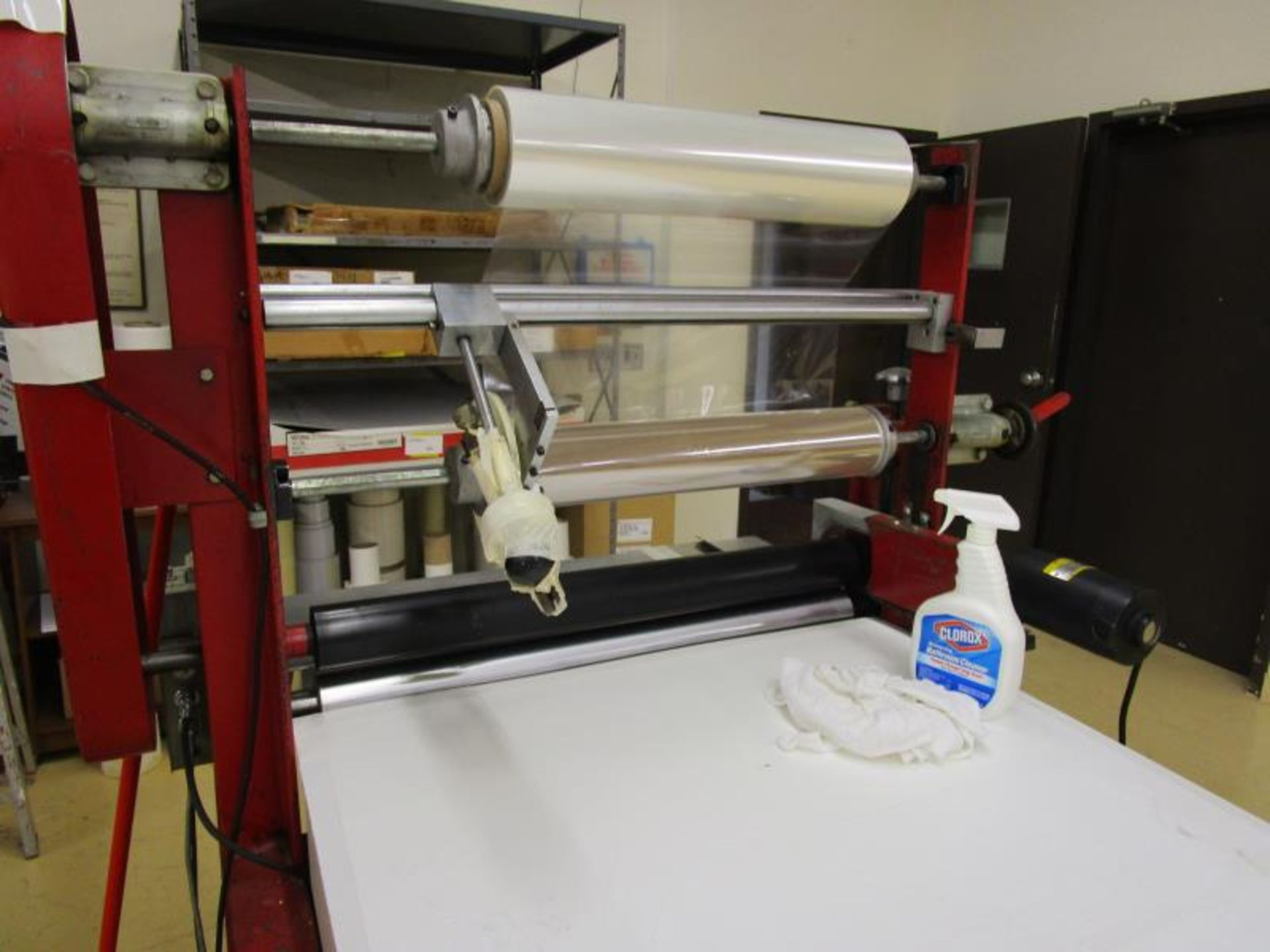 """Cold Roll Laminator, 28"""" Max Roll Size, Speed Controller & Baldor Motor - Image 6 of 6"""