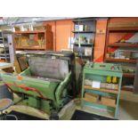 Standard Paper Box Machine Die Cutter, Model: 32X44, SN: P7984