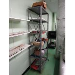 Shelving Units, Six Shelf w/ Contents Of Solder, Wire, Misc. Electronics & Parts