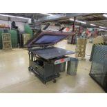 Filbar Semi Automatic Press, 4' x 4' Screen