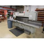 Paper Cutter by Como Maskin AB, Alvesta Sweden, Type: 59-77, Number 2990, Approval: 6327, CSA: