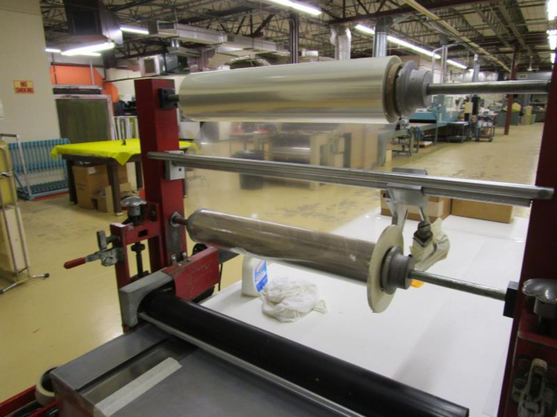 """Cold Roll Laminator, 28"""" Max Roll Size, Speed Controller & Baldor Motor - Image 5 of 6"""