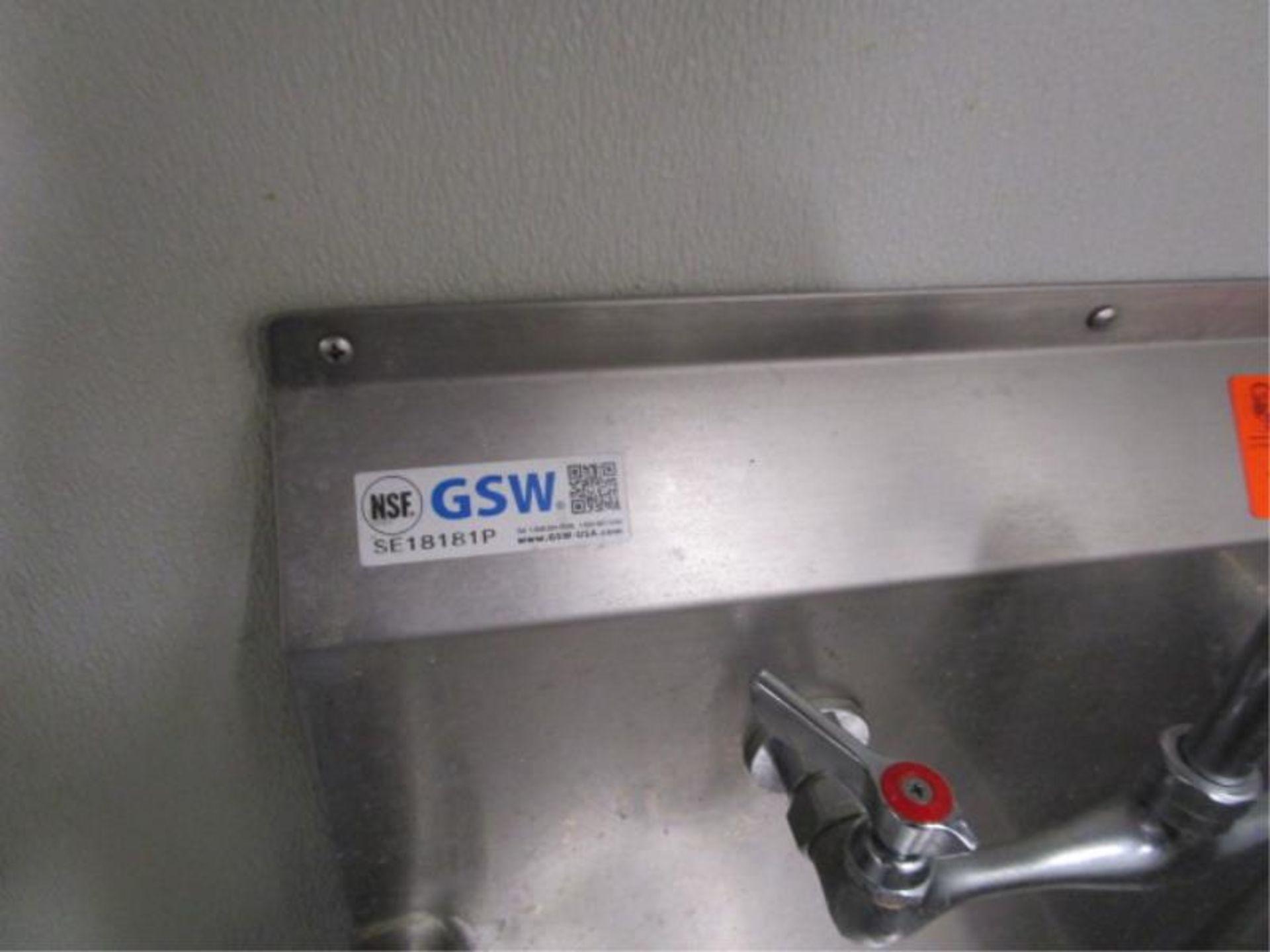 "Lot 34 - Deep Well Veggie Sink, 21"" by GSW"