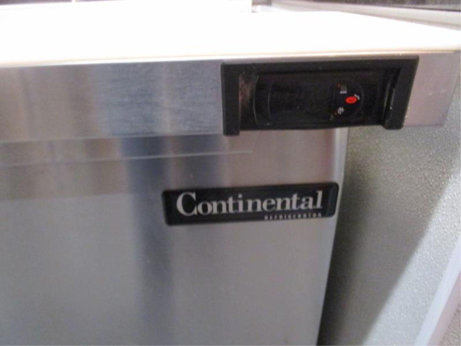Lot 24 - Continental Pizza Prep Unit, Model: SW72, SN: 15758736