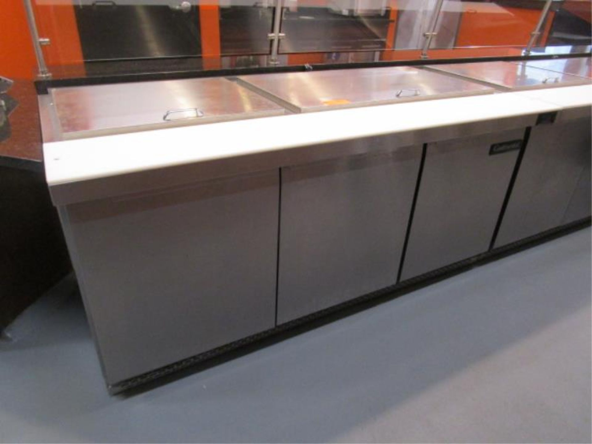 Lot 23 - Continental Pizza or Sandwich Prep Unit, Model: SW72, SN: 15758737