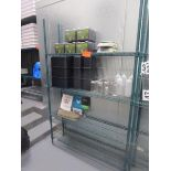 "Lot 48 - Metal Wire Metro Style Rack, 4' x 75"" x 12""d"